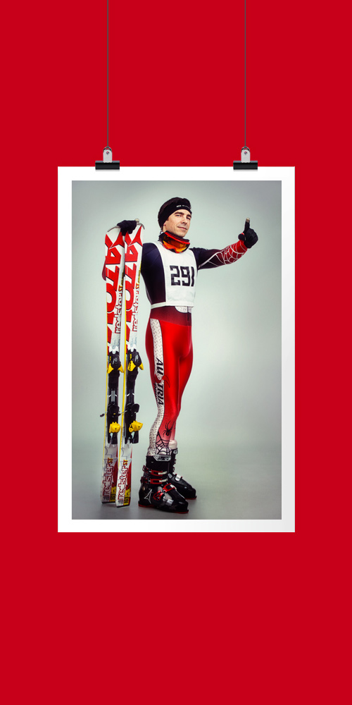 shooting racing suit ski
