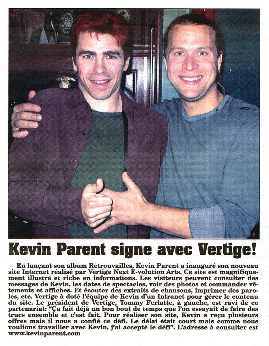 Kevin Parent Tommy Ferlatte