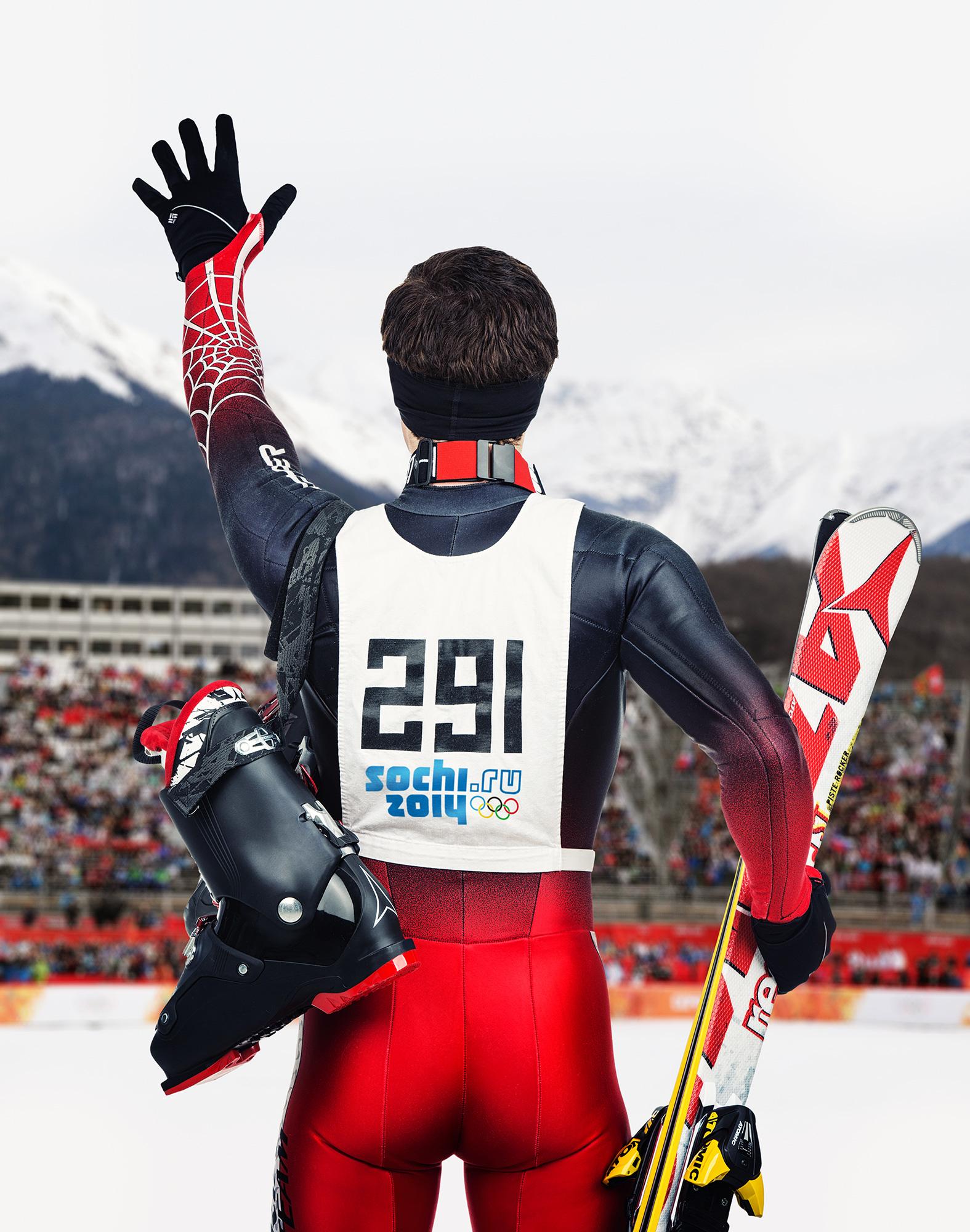 À ski! Photo : Marie-Pier Lafontaine & Remy Dussud