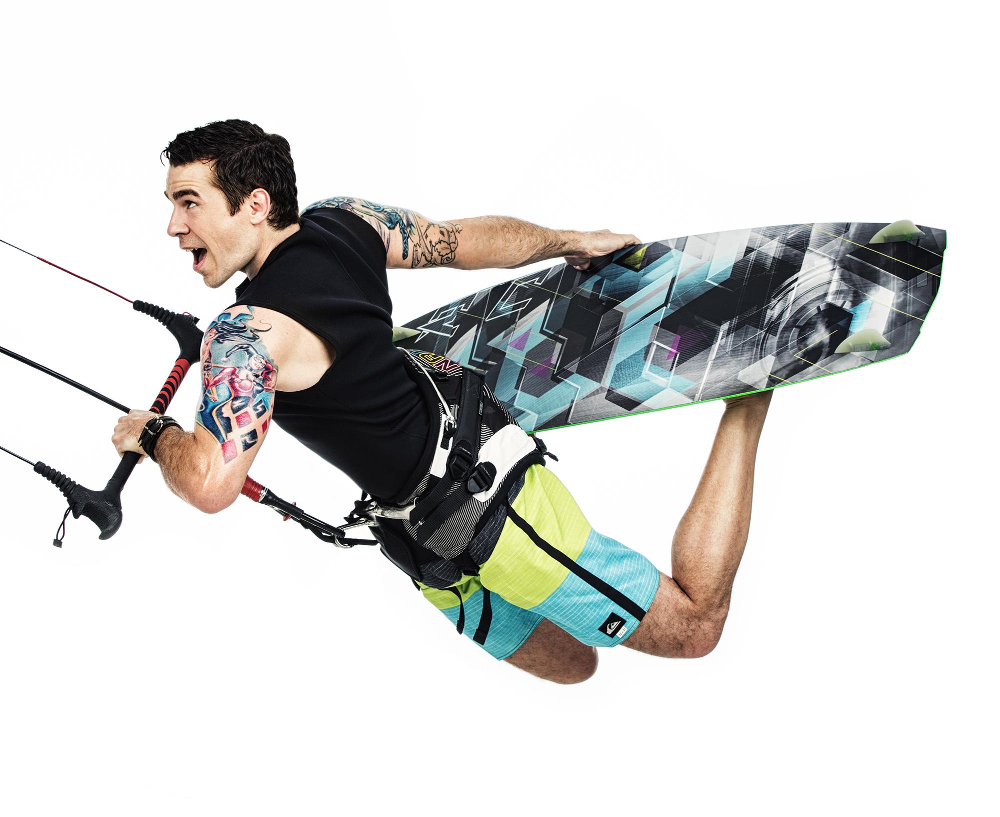 Kite surf! Photo : Marie-Pier Lafontaine & Remy Dussud