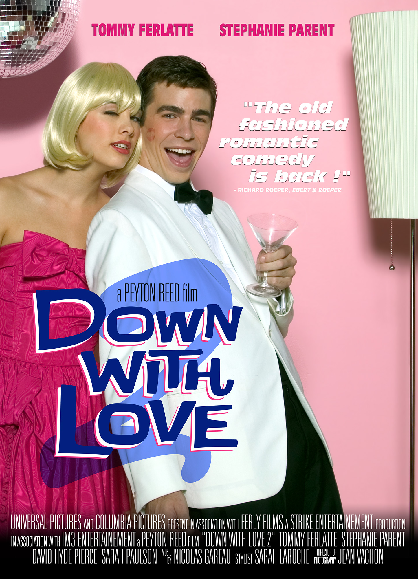 Down with Love inspiration movie poster
