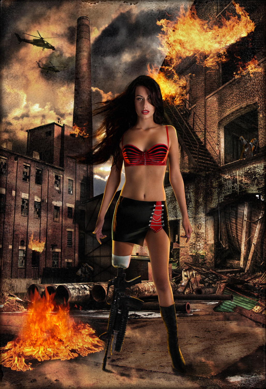 Cherry Darling Planet Terror cosplay zombie
