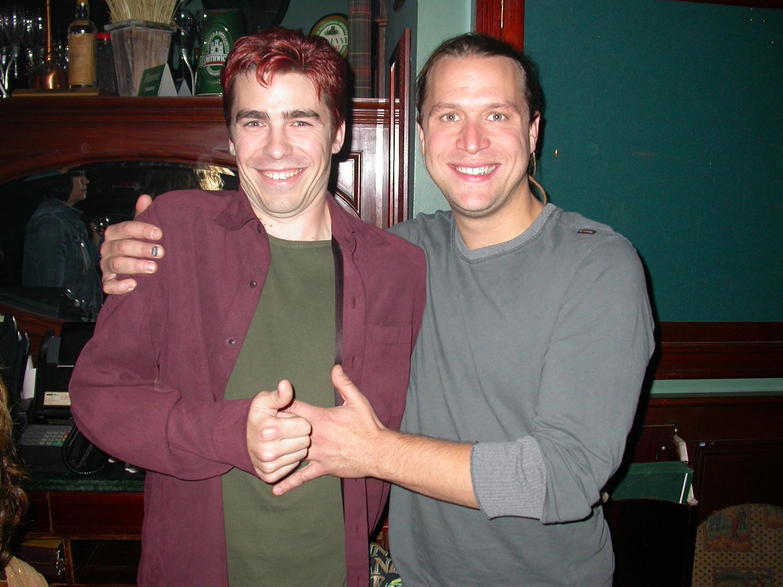Tommy Ferlatte et Kevin Parent