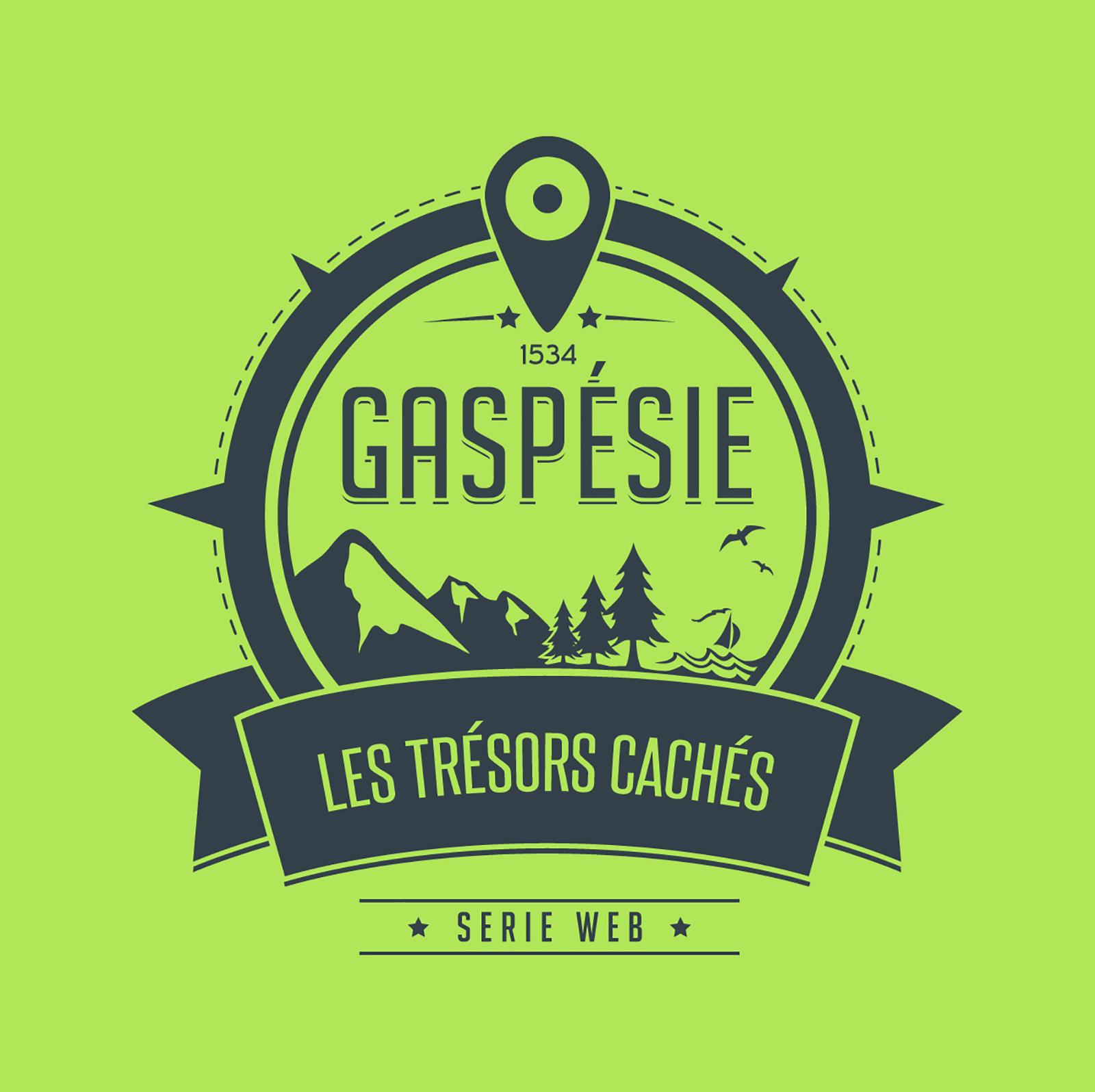 Création du logo des Trésors cachés de la Gaspésie