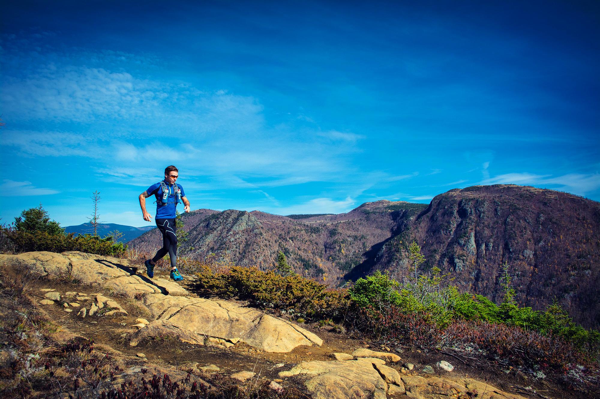 Trailrunning au Mont Olivine