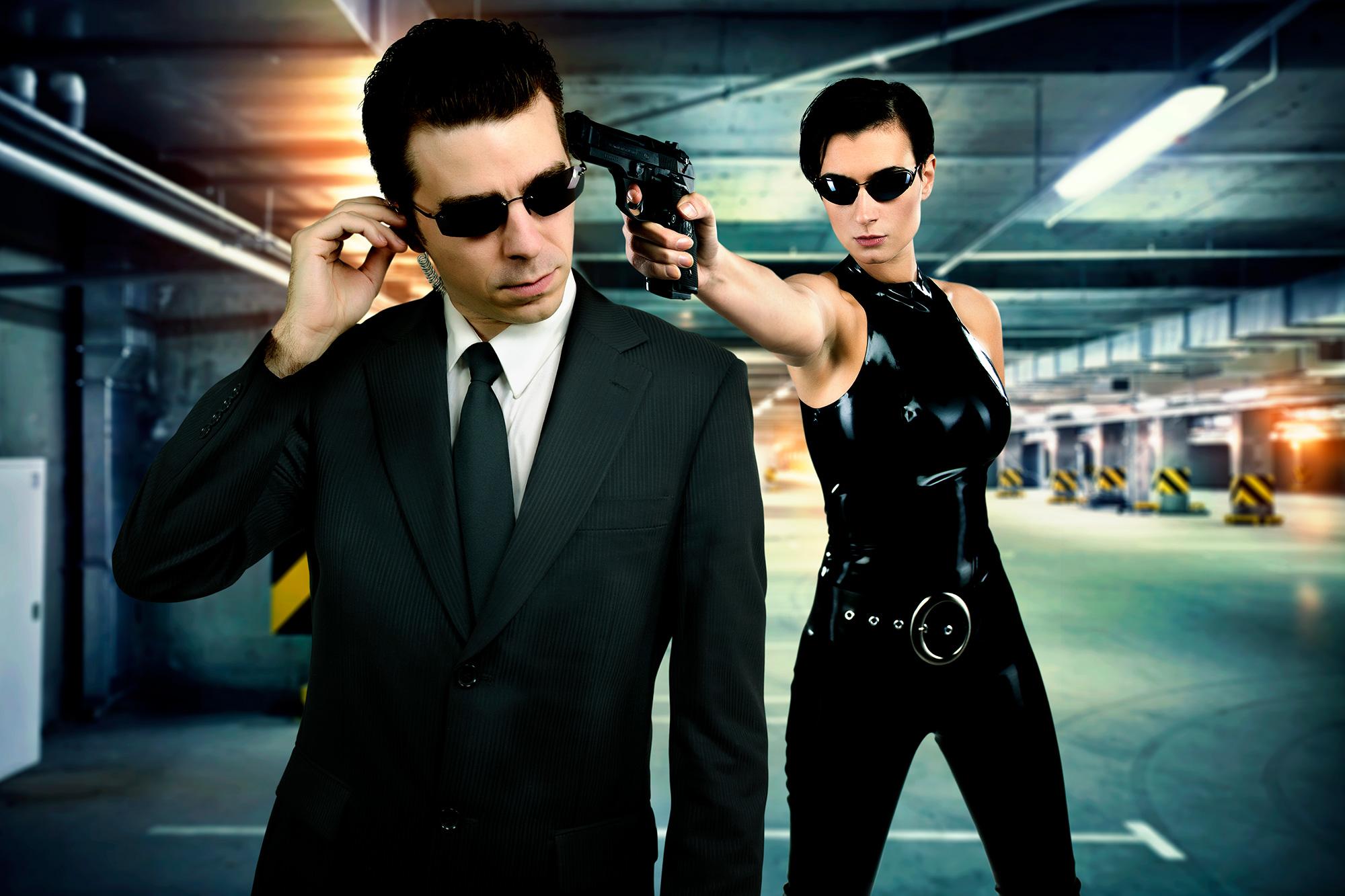 Trinity et Agent Smith