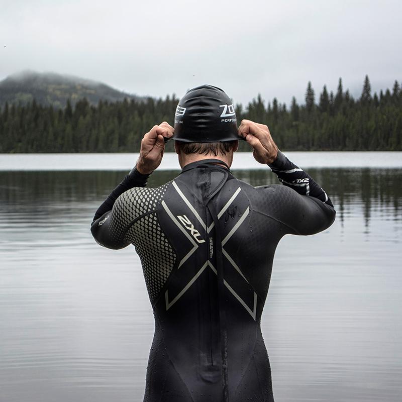openwaterswim openwater gaspesie swimcap swimming 2xu 2xucanada 2xucompression wetsuit trisuit triathlon